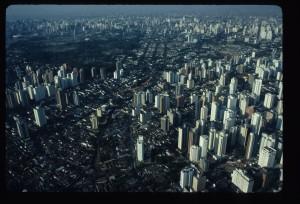 Sao Paolo aerial